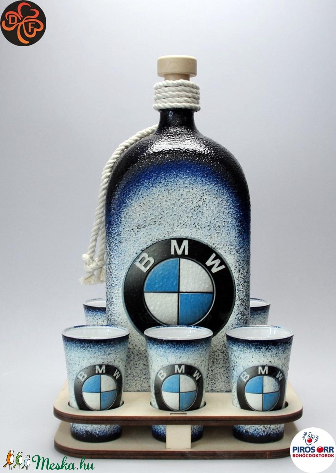 BMW ajándék családi készlet ; A saját BMW autód fotójával is!  (decorfantasy) - Meska.hu
