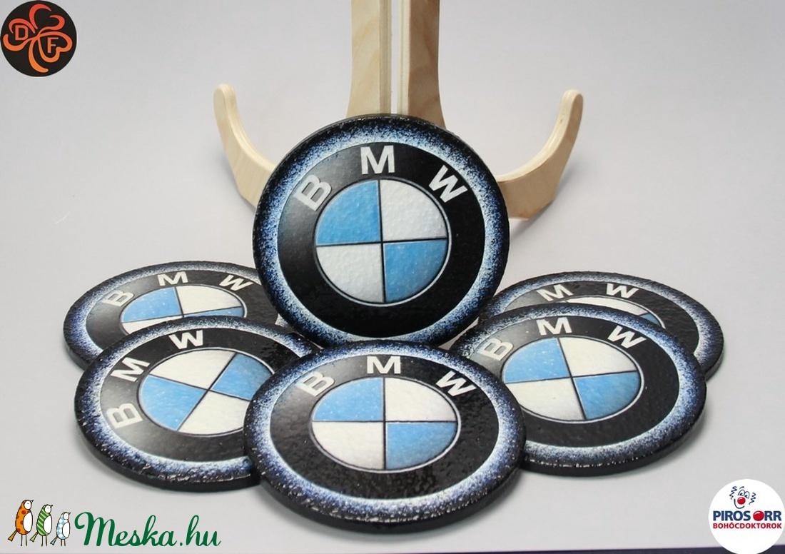 BMW poháralátét ; A saját BMW autód fotójával is!  (decorfantasy) - Meska.hu