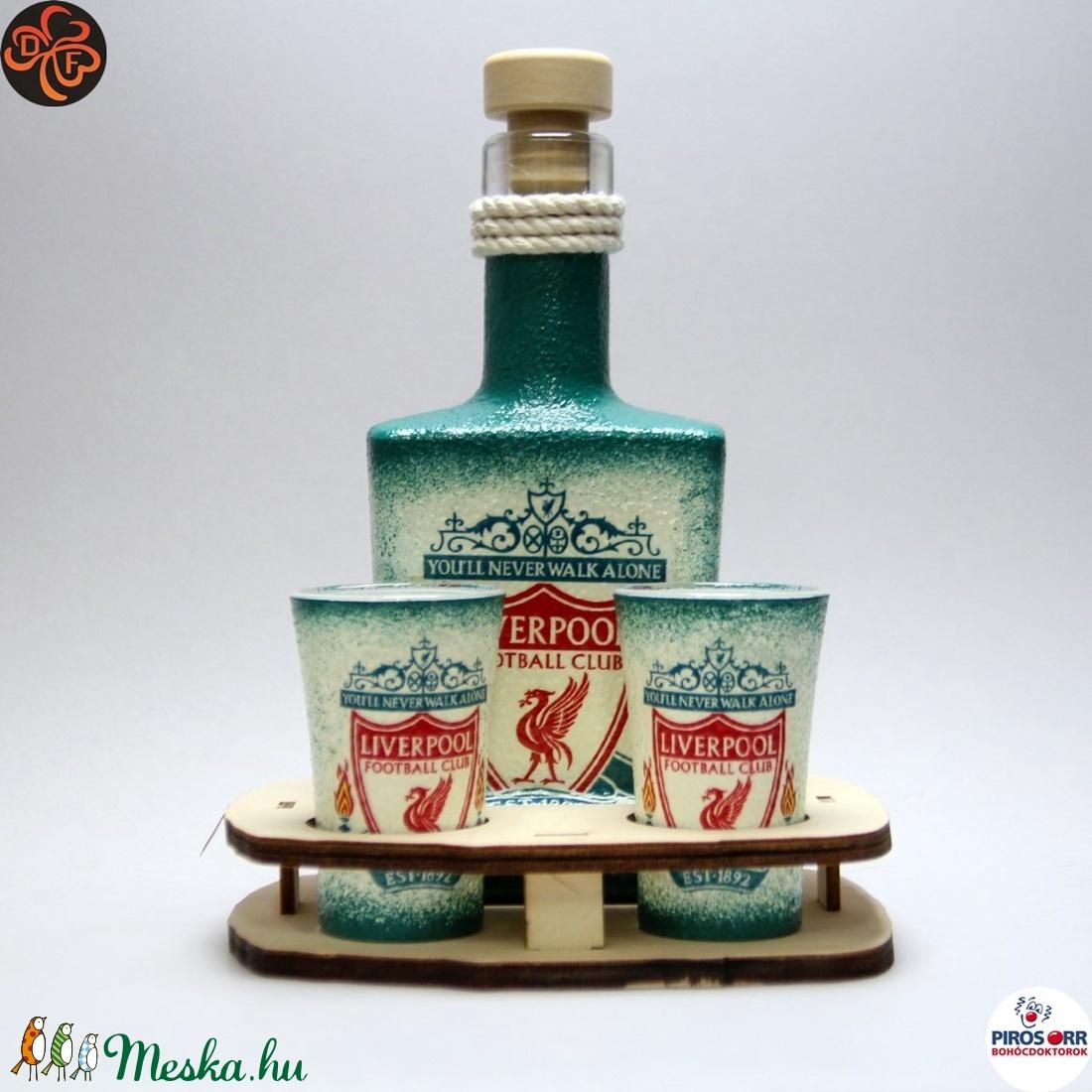 LIVERPOOL italos szett ; Liverpool szurkolóknak (decorfantasy) - Meska.hu