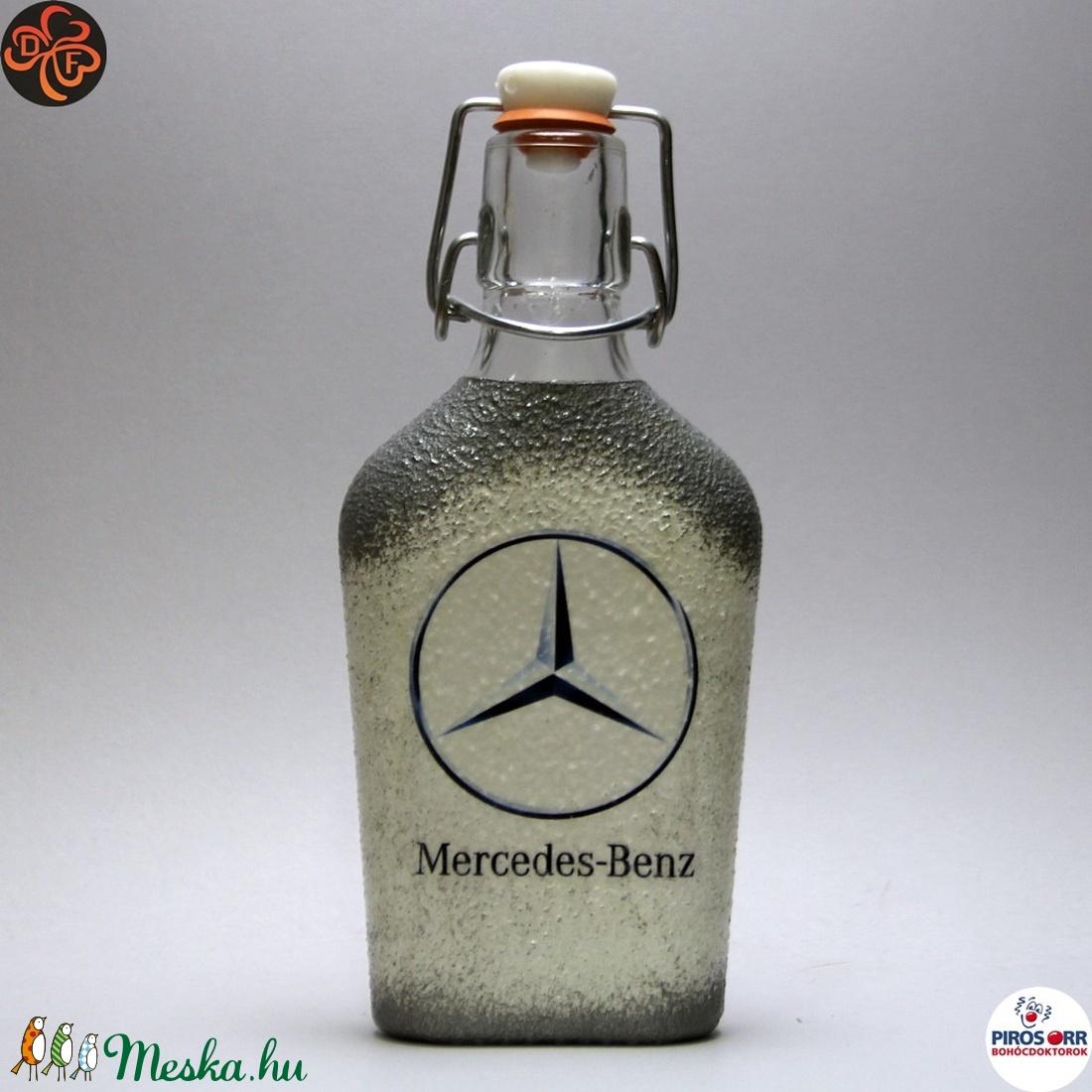 MERCEDES pálinkás készlet ; Mercedes rajongóknak (decorfantasy) - Meska.hu