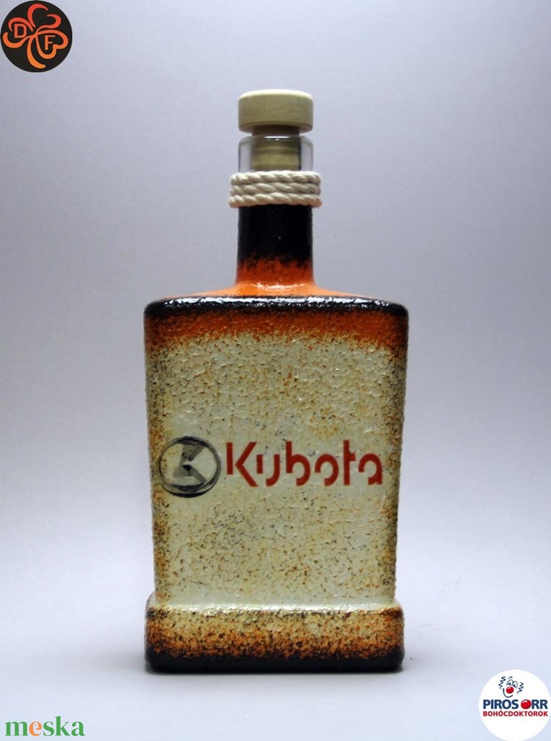 Kubota Traktor italos üveg ; Saját Kubota traktorod fényképével is! (decorfantasy) - Meska.hu