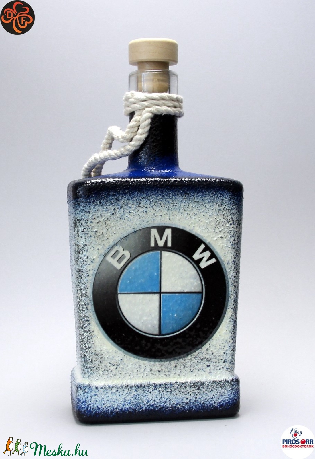BMW italos, whiskys üveg ; BMW rajongóknak (decorfantasy) - Meska.hu