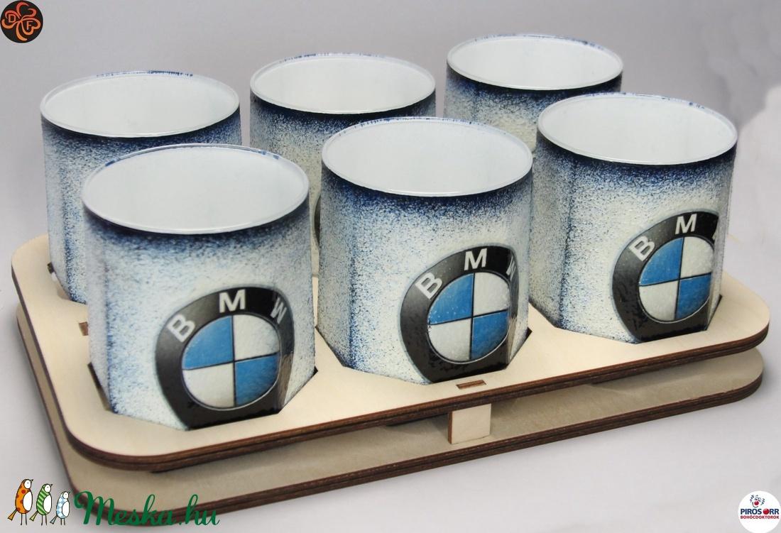 BMW whiskys pohár készlet ; Saját BMW autód fotójával is!  (decorfantasy) - Meska.hu