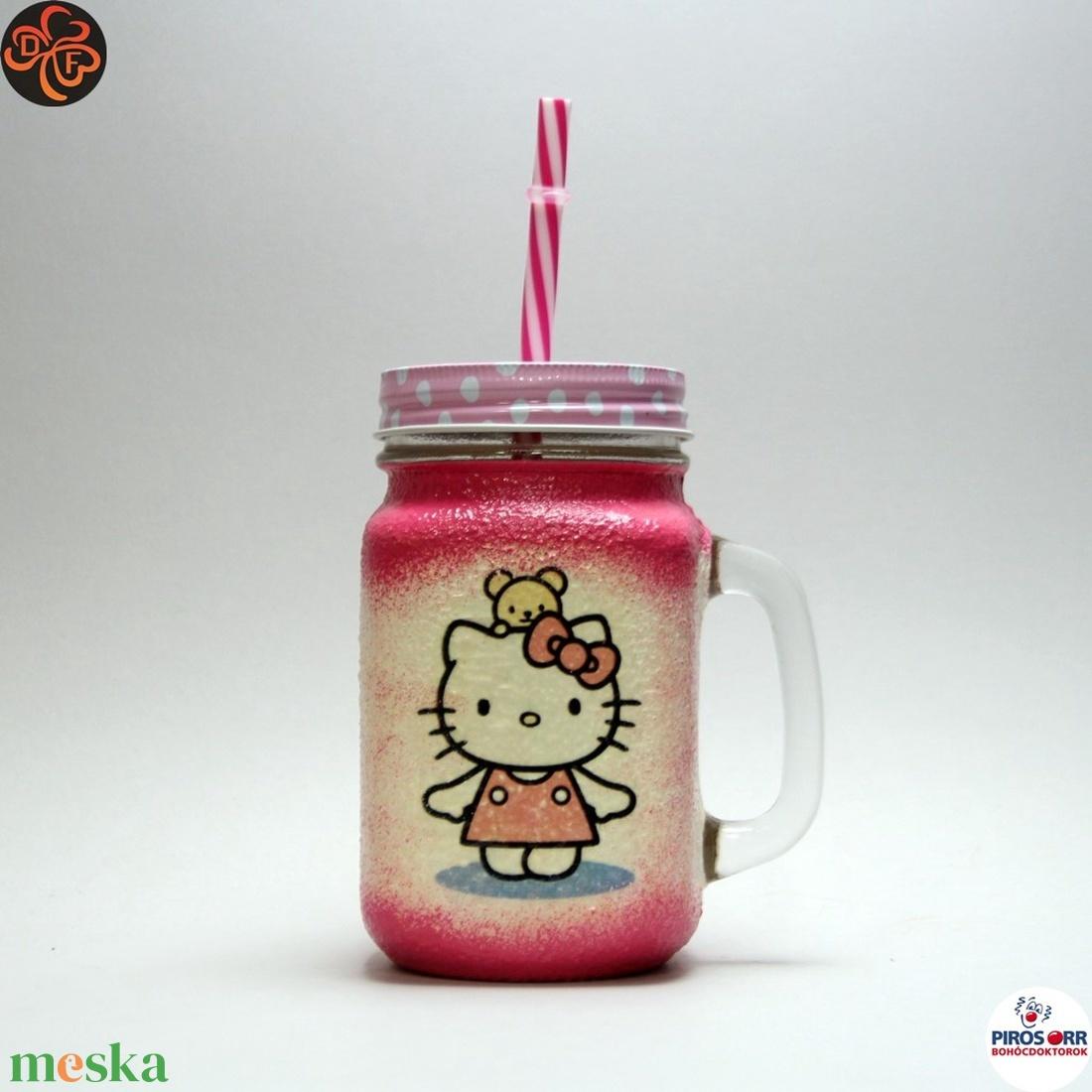 Pohár lányoknak, pohár gyerekeknek  (decorfantasy) - Meska.hu