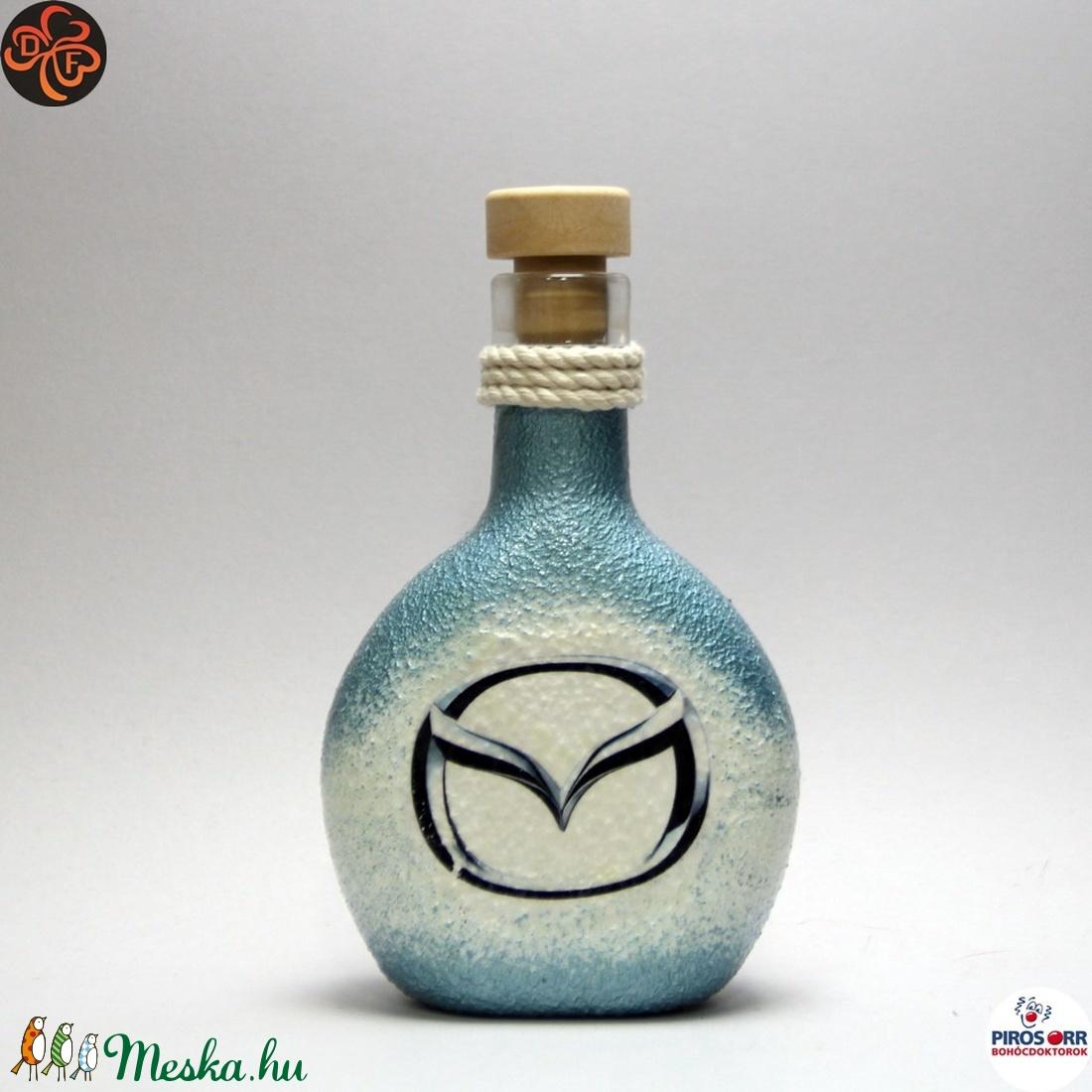 MAZDA italos flaska ; autó rajongóknak (decorfantasy) - Meska.hu