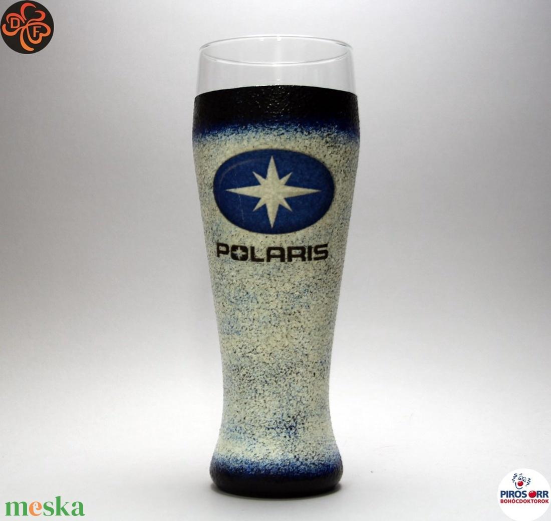 POLARIS sörös pohár ; Saját quadod fényképével is! (decorfantasy) - Meska.hu