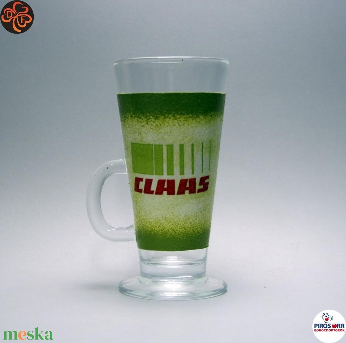 CLASS Traktor kávés pohár ; Saját traktorod fényképével is! - otthon & lakás - konyhafelszerelés - pohár - Meska.hu