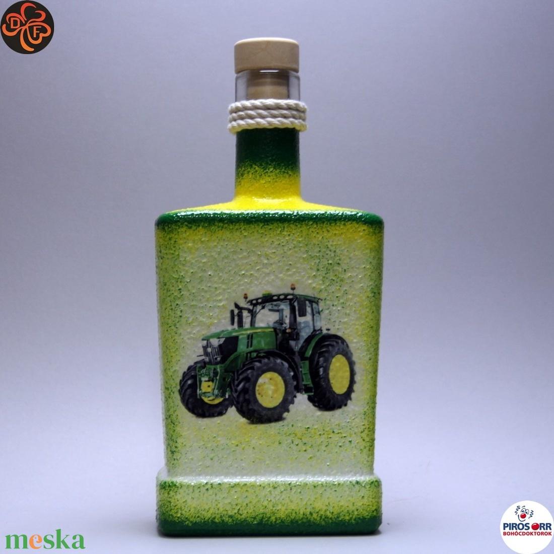 A gazda reggeli itala ; John Deere Traktor - Meska.hu
