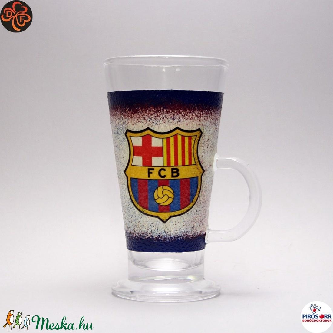 FC Barcelona kávés pohár ; foci szurkolóknak (decorfantasy) - Meska.hu
