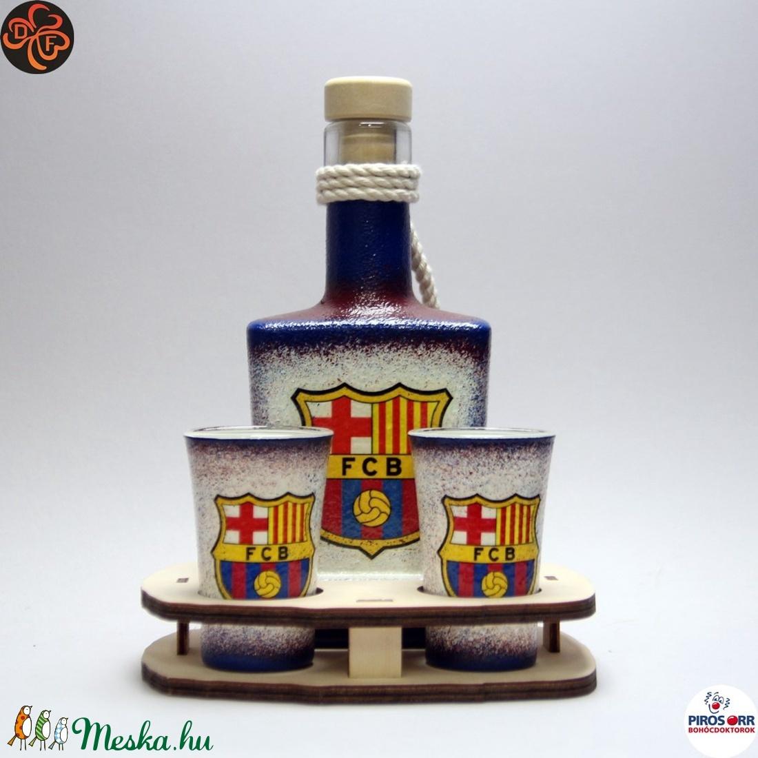 FC Barcelona italos készlet; futball szurkolóknak (decorfantasy) - Meska.hu