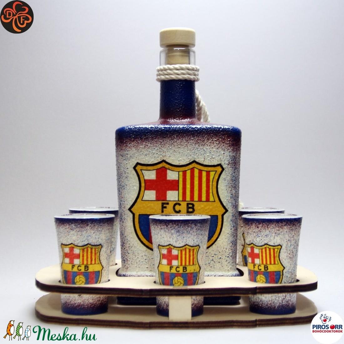 FC Barcelona italos készlet ; futball szurkolóknak (decorfantasy) - Meska.hu