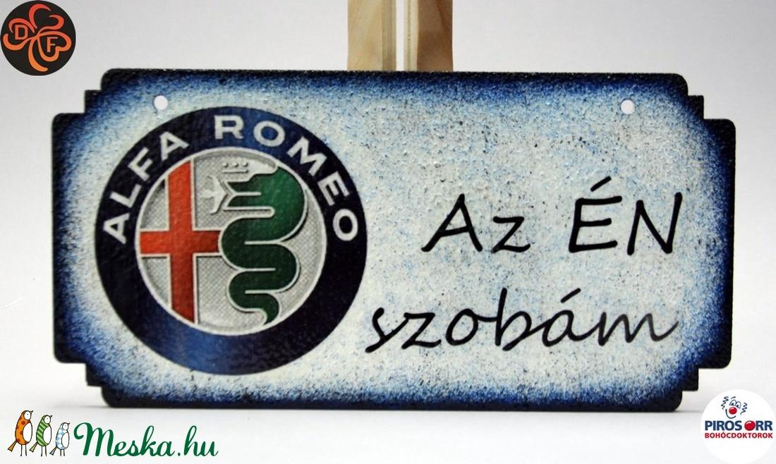 Alfa Romeo fatábla ; Alfa Romeo rajongóknak (decorfantasy) - Meska.hu