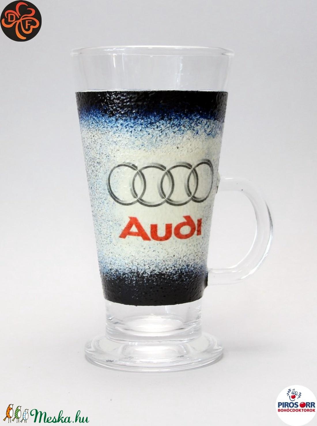 Audi kávés pohár ; Audi rajongóknak (decorfantasy) - Meska.hu