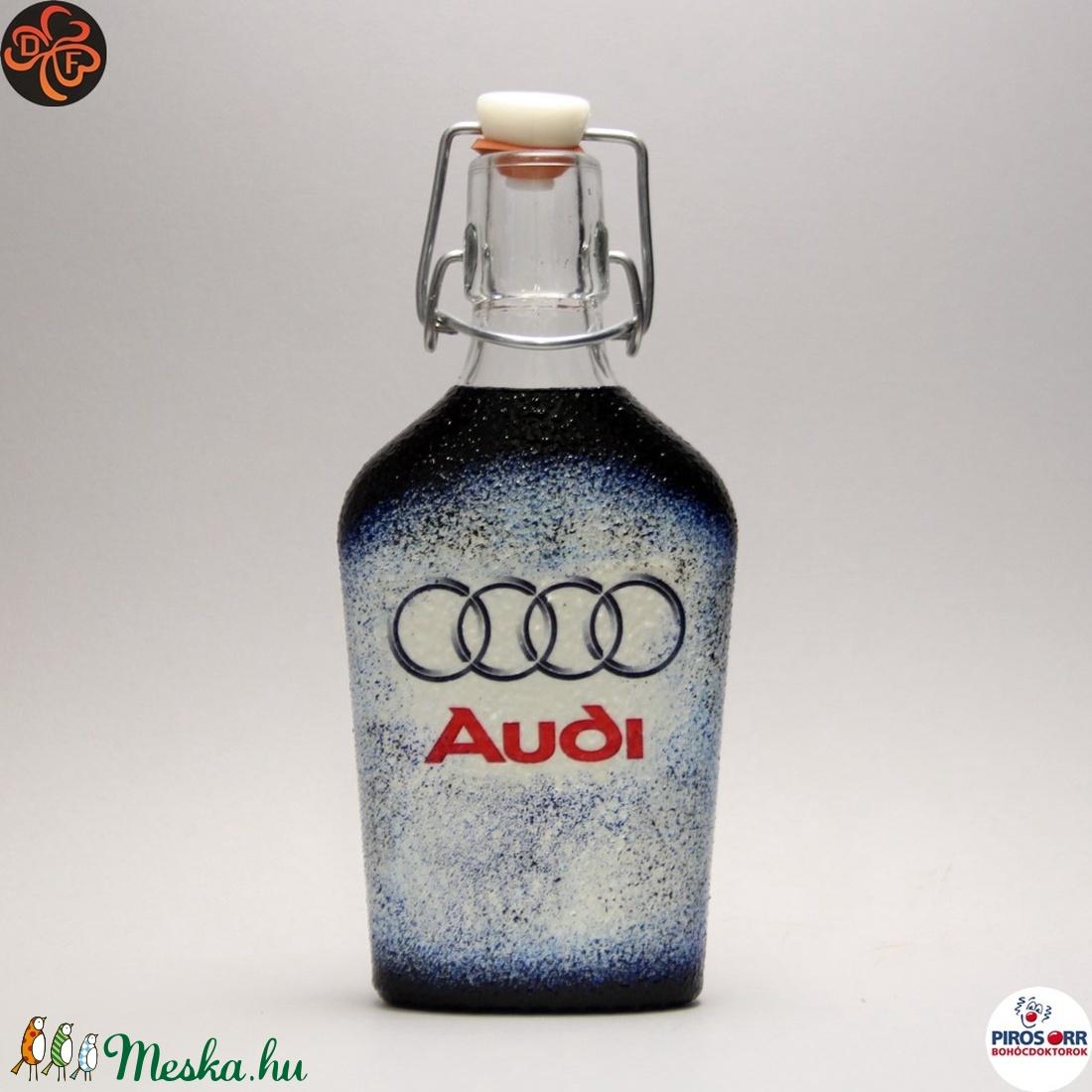 Audi csatosüveg ; Audi rajongóknak (decorfantasy) - Meska.hu