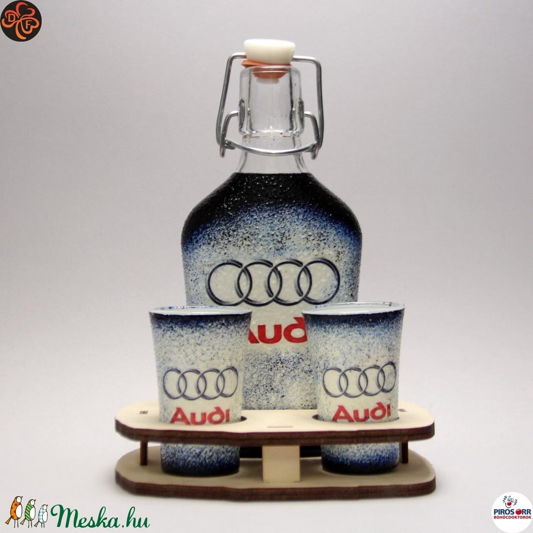 Audi ital készlet ; Audi rajongó férfiaknak (decorfantasy) - Meska.hu
