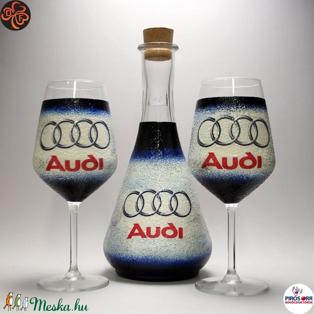 Audi boros készlet ; Audi rajongóknak (decorfantasy) - Meska.hu