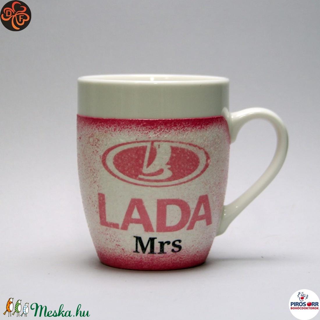 LADA ( ZSIGULI ) kávés csésze ; autó rajongóknak (decorfantasy) - Meska.hu