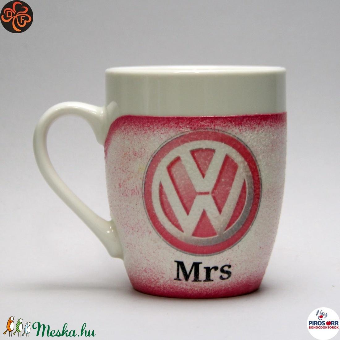 VOLKSWAGEN  kávés csésze ; Volkswagen autó rajongóknak - Meska.hu