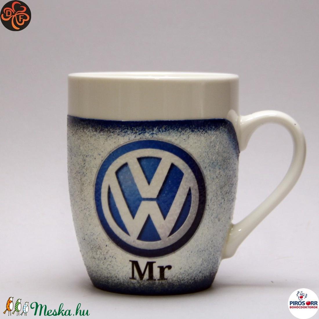 VOLKSWAGEN  kávés csésze ; Volkswagen autó rajongóknak (decorfantasy) - Meska.hu