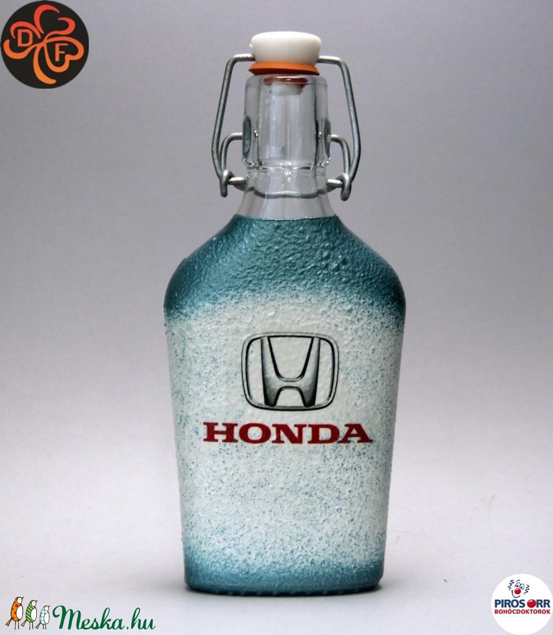 HONDA röviditalos csatosüveg ; Saját Honda autód fotójával is elkészítjük (decorfantasy) - Meska.hu