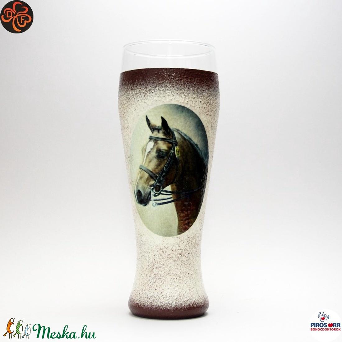Ló - lovas söröspohár ; Lovak kedvelőinek (decorfantasy) - Meska.hu