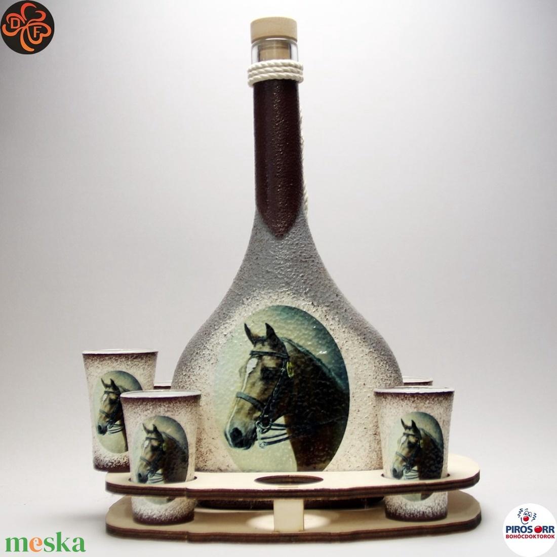 Ló - lovas italos készlet ; Lovak kedvelőinek - Meska.hu