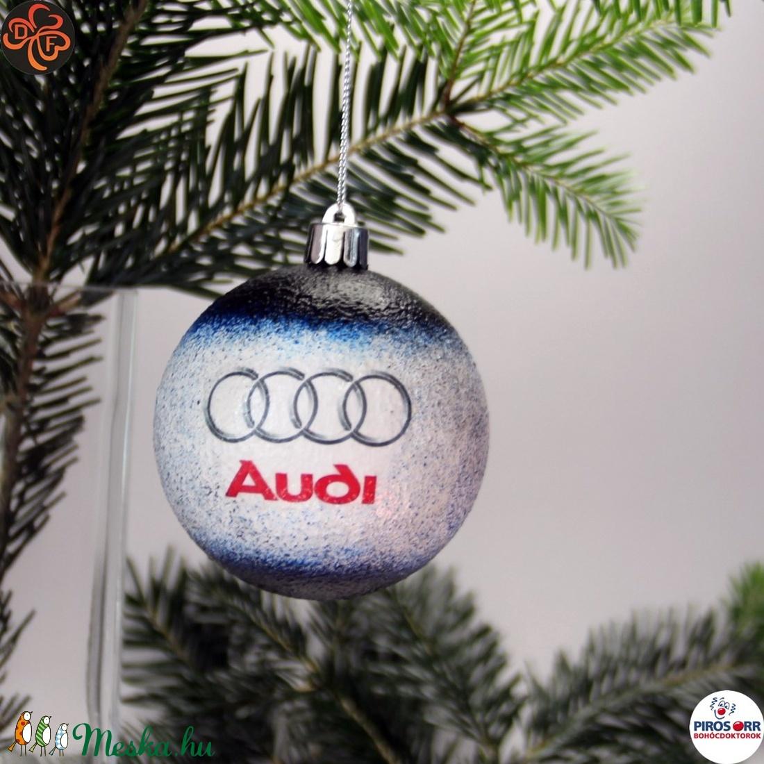 Audi karácsonyfadísz ajándék férj, barát, nagyapa, audi autósnak (decorfantasy) - Meska.hu