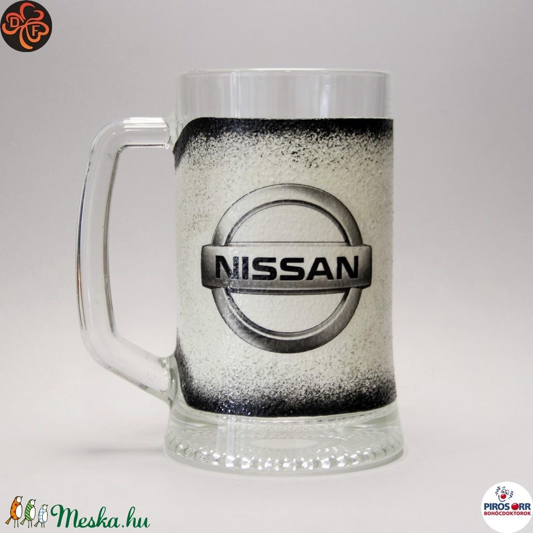 NISSAN söröskorsó ; autó rajongóknak, férjnek, barátnak születésnapra, névnapra, karácsonyra - Meska.hu