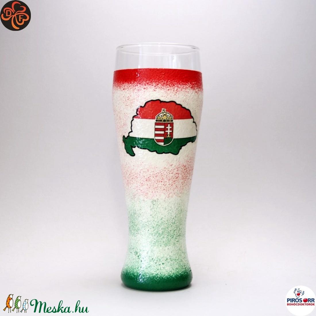 Nagy-Magyarország söröspohár; TRIANON ;  - Meska.hu