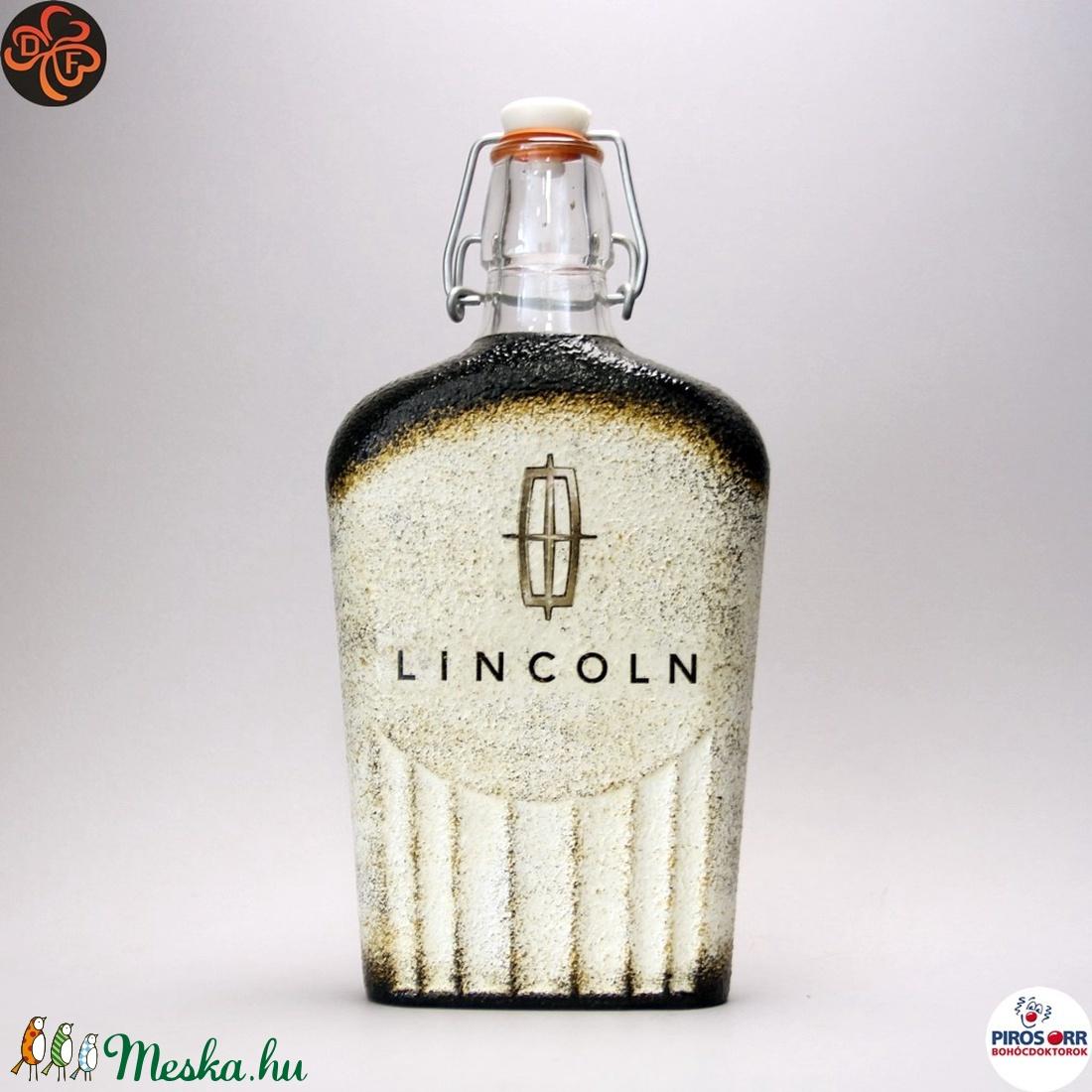 Lincoln emblémás csatosüveg ; amerikai autó kedvelő férfiaknak (decorfantasy) - Meska.hu