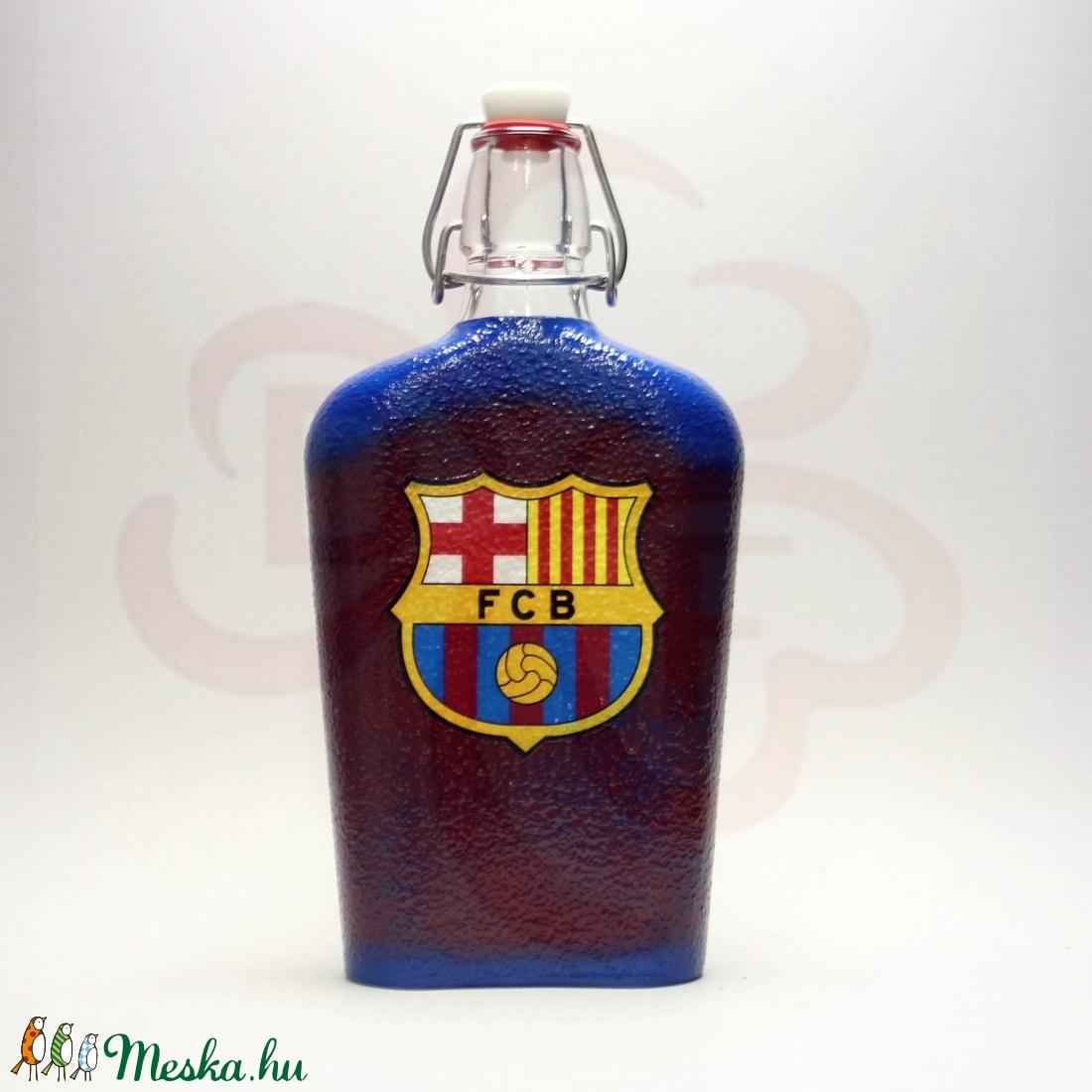 FC Barcelona csatosüveg ; Barcelona futball szurkolóknak - Meska.hu