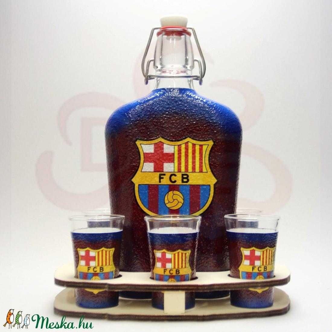 FC Barcelona italszett ; Barcelona futball szurkolóknak - Meska.hu