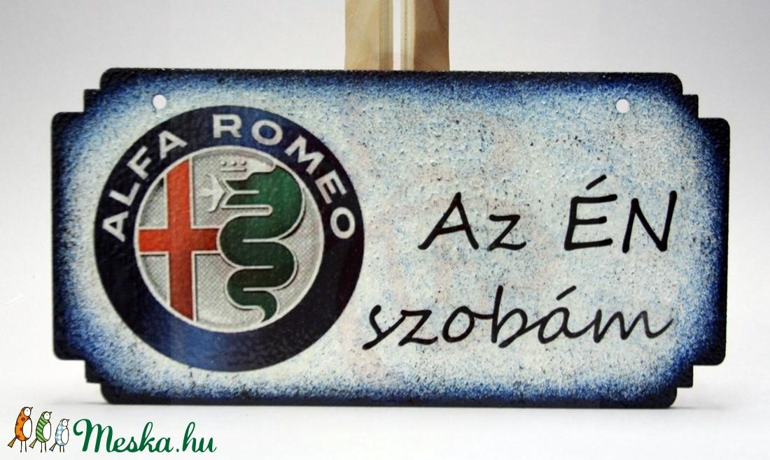 Alfa Romeo fatábla ; Alfa Romeo rajongóknak - Meska.hu