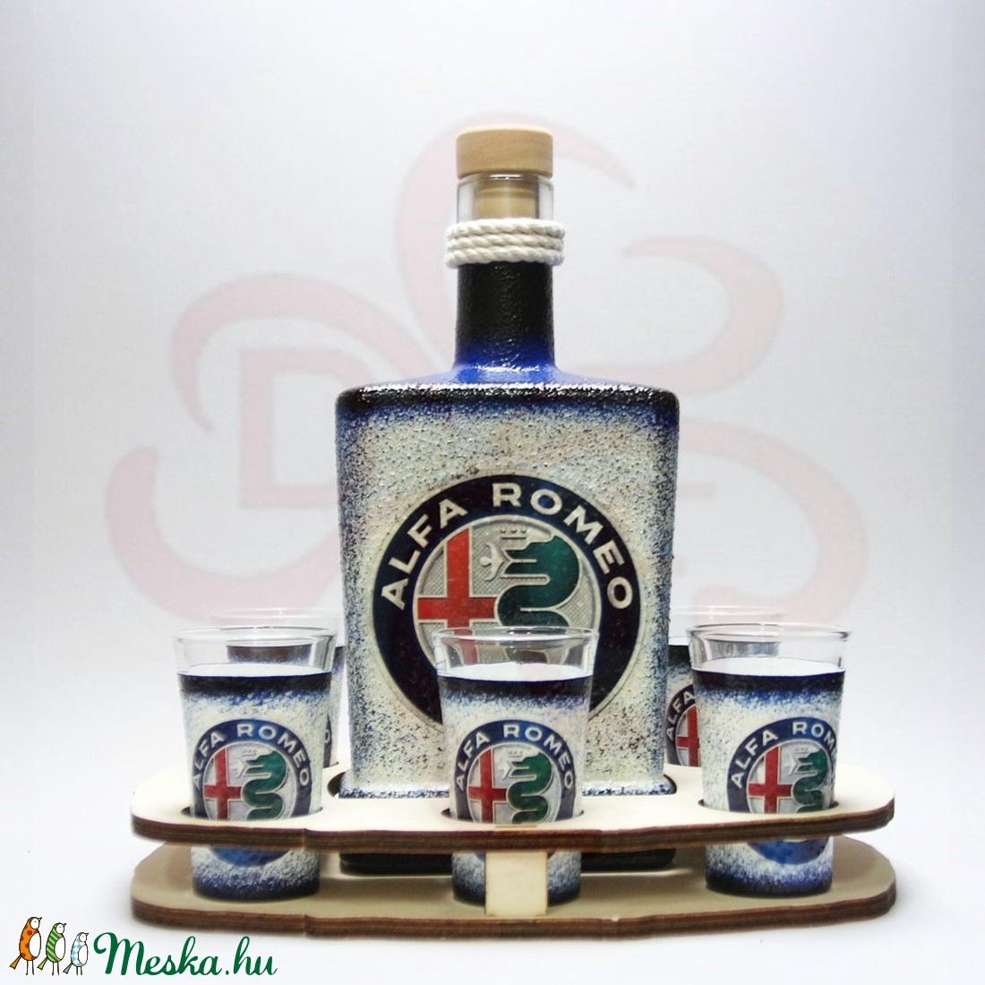 Alfa Romeo italos szett ; A saját Alfa autód fotójával is! - Meska.hu