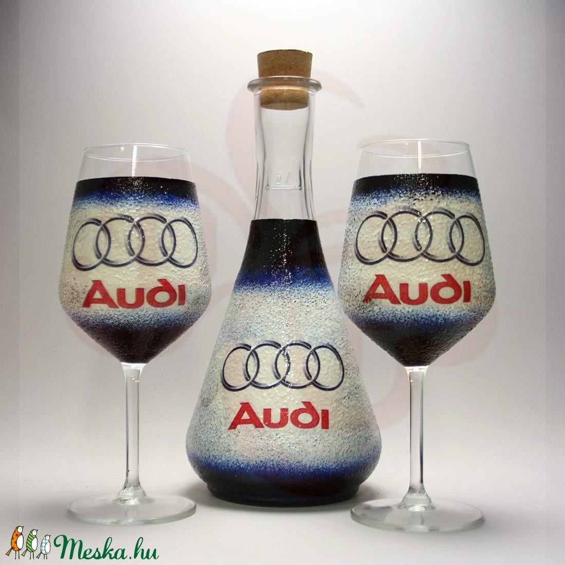 Audi boros készlet ; Audi rajongóknak - Meska.hu