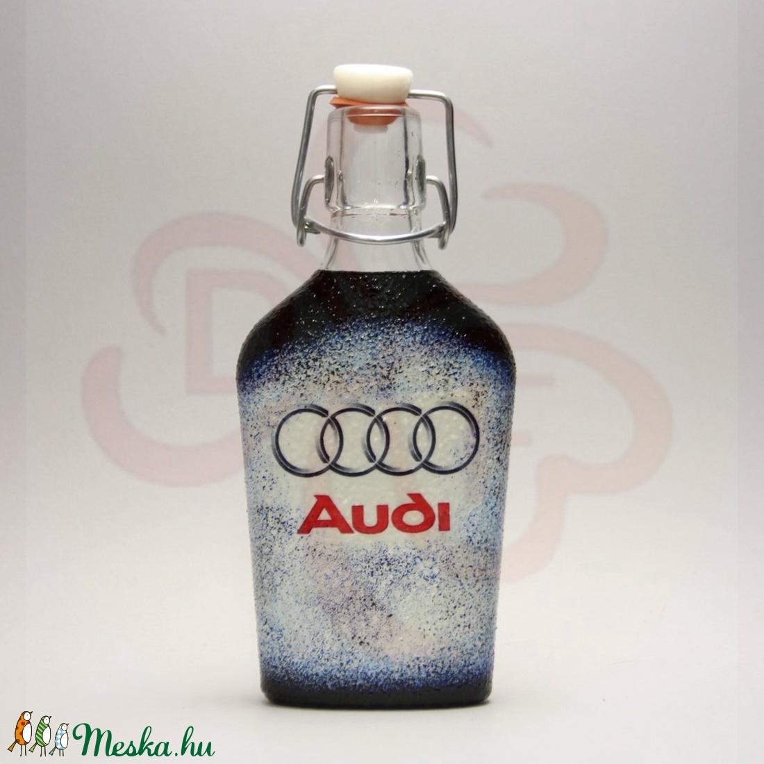 Audi csatosüveg ; Audi rajongóknak - Meska.hu