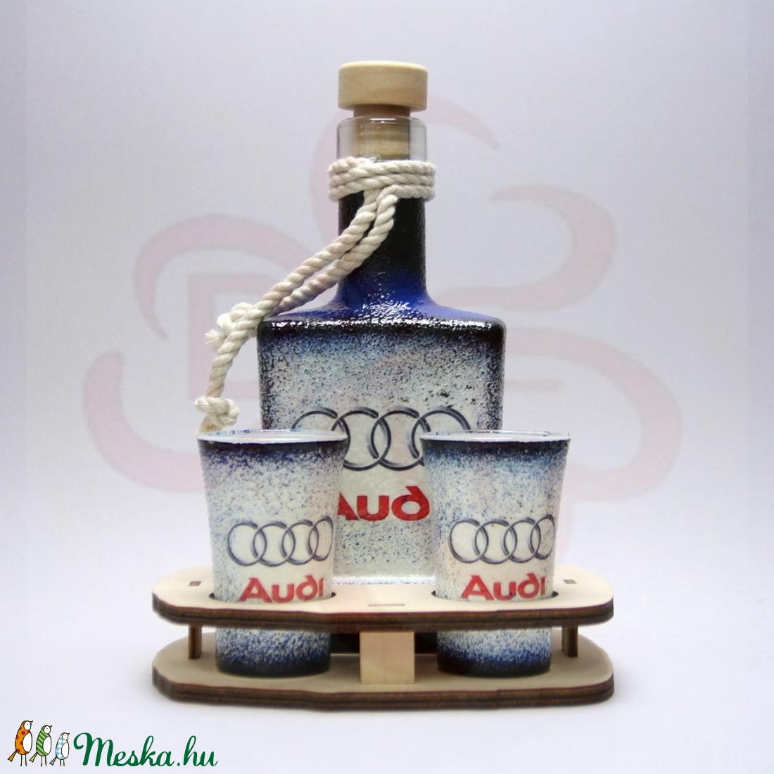 Audi whiskys készlet ; Audi rajongóknak - Meska.hu
