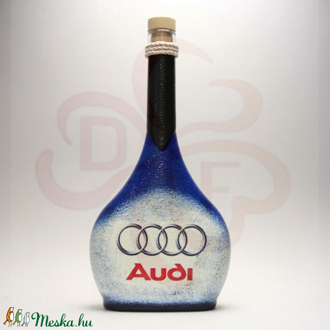 Audi italos üveg ; Audi rajongóknak - Meska.hu