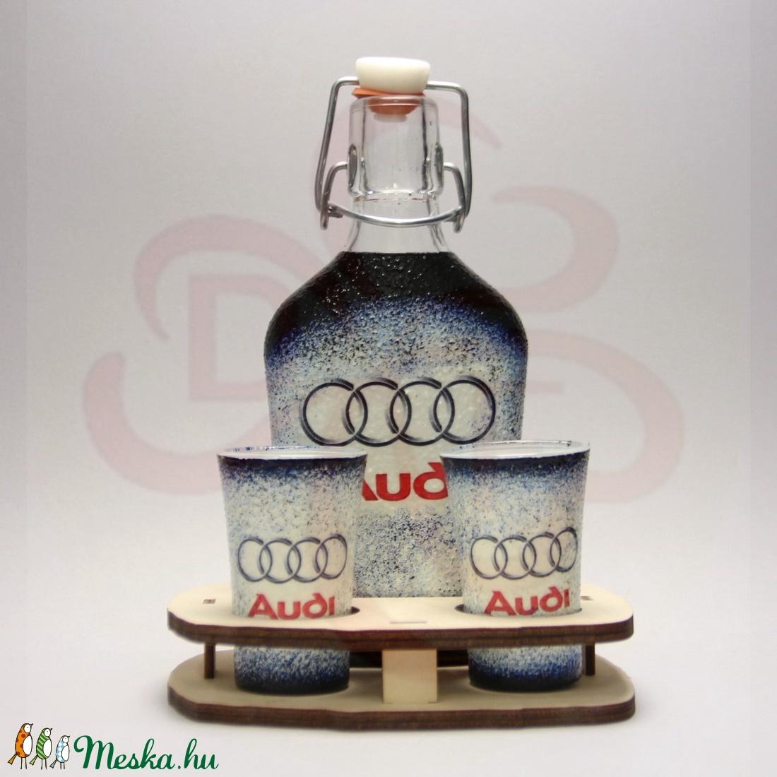 Audi ital készlet ; Audi rajongó férfiaknak - Meska.hu
