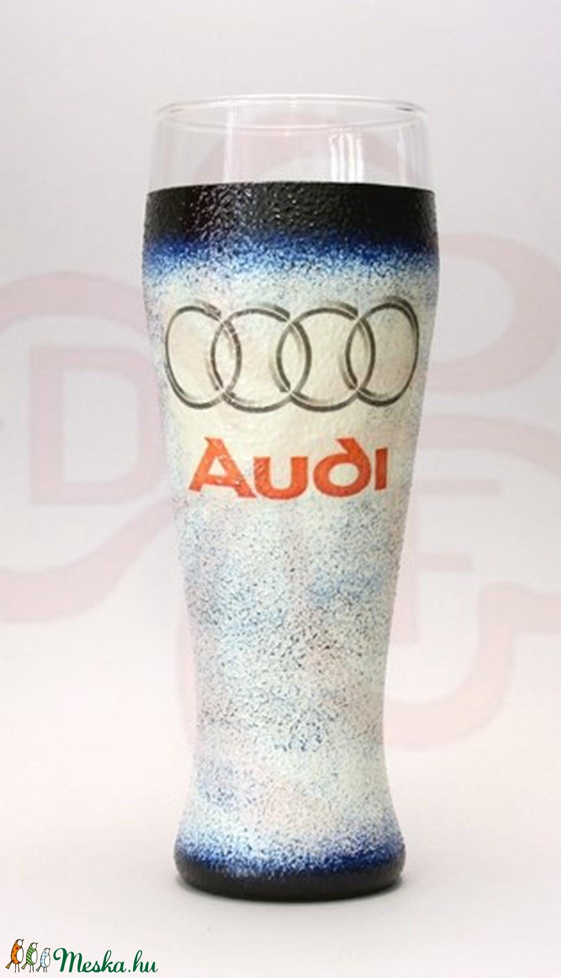 Audi söröspohár ; Audi rajongóknak (decorfantasy) - Meska.hu