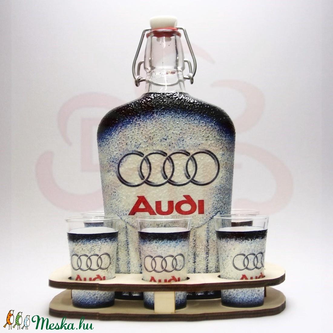 Audi italkészlet  ; Audi rajongóknak - Meska.hu