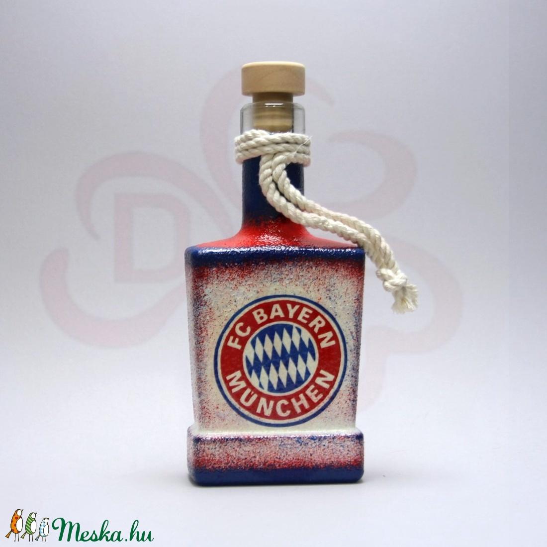 BAYERN MÜNCHEN italos üveg ; futball szurkoló férfiaknak - Meska.hu