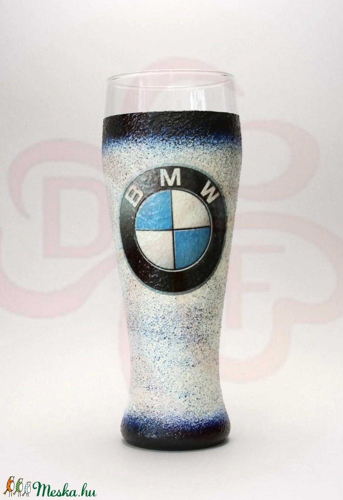 BMW sörös pohár ; BMW rajongóknak (decorfantasy) - Meska.hu