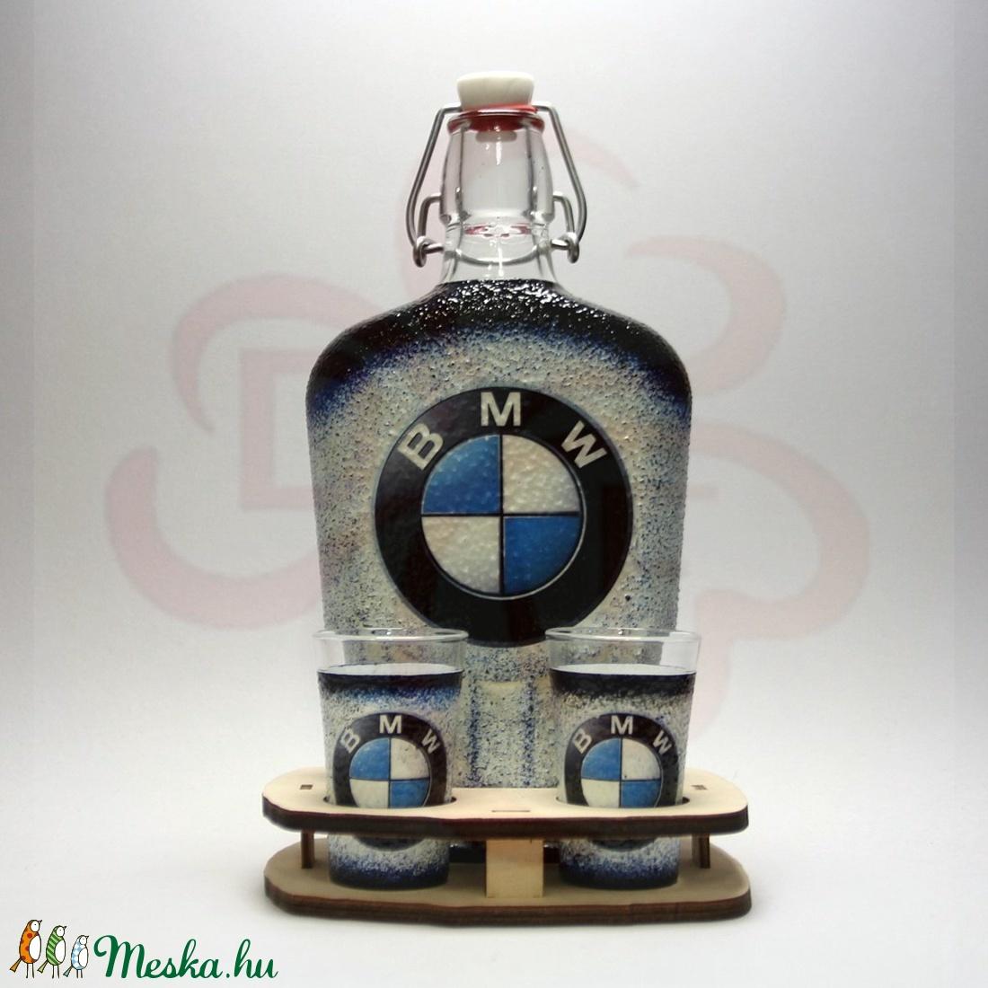 BMW pálinkás kínáló ; BMW rajongóknak - Meska.hu