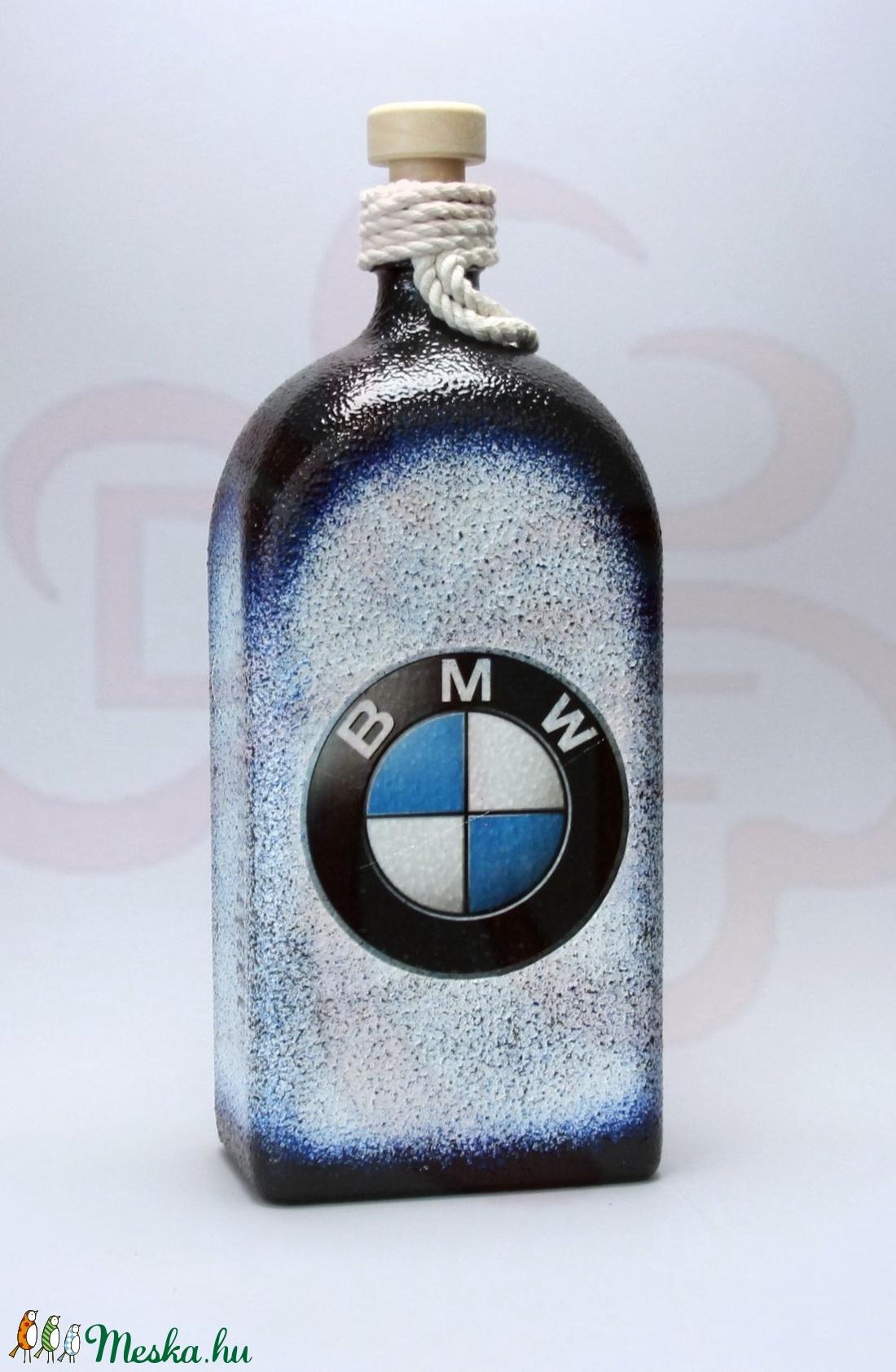 BMW pálinkás üveg ; BMW rajongóknak - Meska.hu