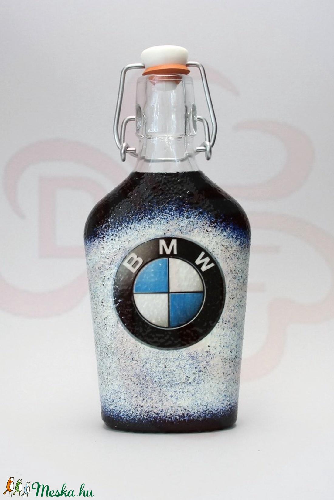 BMW csatosüveg ; BMW rajongóknak - Meska.hu