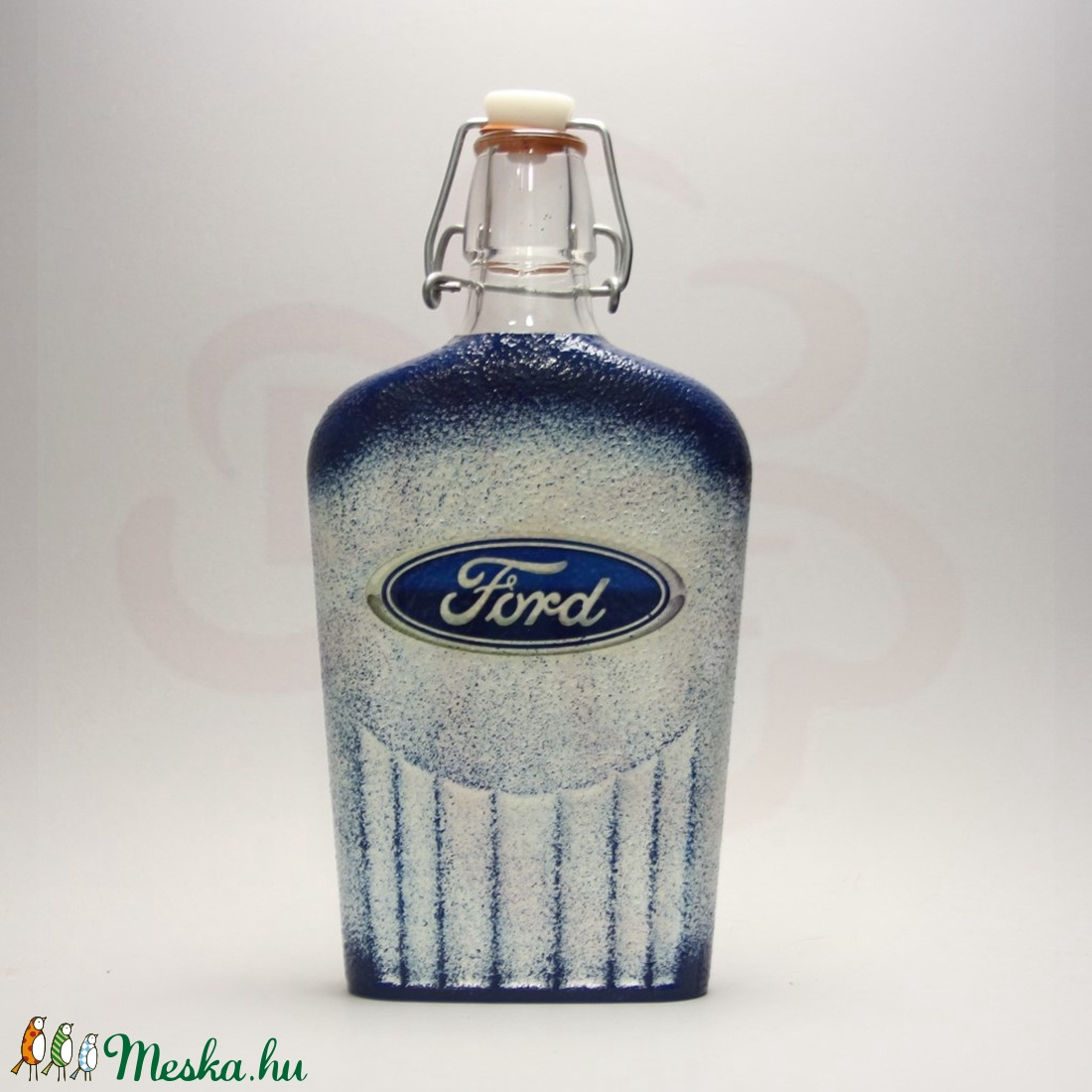 FORD pálinkás üveg ; A saját Ford autód fényképével is!  - Meska.hu