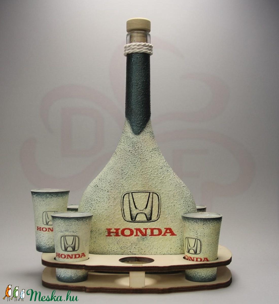 HONDA ital tartó ; Saját Honda autód fotójával is  - Meska.hu