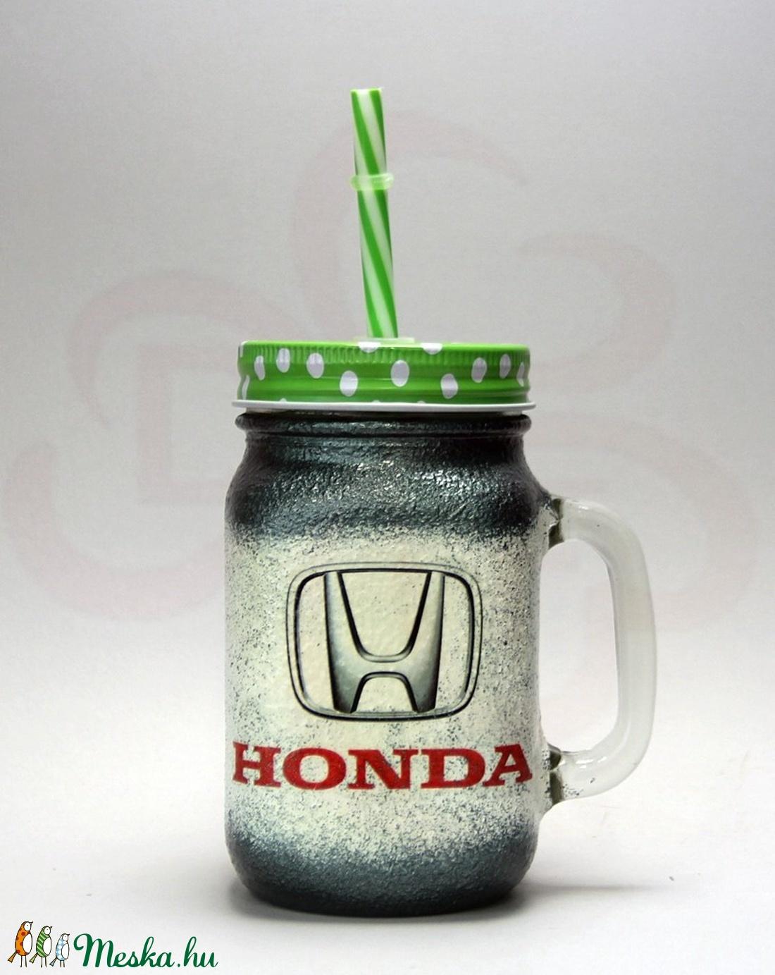 HONDA bögre ; Saját Honda autód fotójával is  - Meska.hu