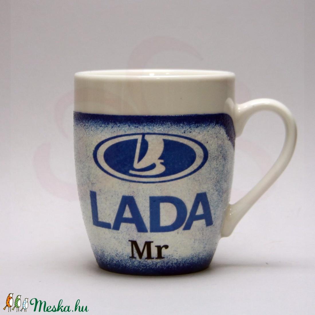 LADA ( ZSIGULI ) kávés csésze ; Lada autó kedvelőknek - Meska.hu